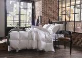 対のサイズ133X100の100%年の綿の白いガチョウはキルトにする