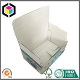 Caixa de embalagem instantânea barata do papel ondulado da parte inferior do fechamento