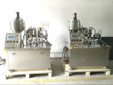 Materiale da otturazione del tubo di vendita e macchina di Sealling laminati plastica Semi-Automatica calda