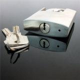 Cadenas protégé par jumelle anti-vol d'acier inoxydable