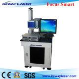 máquina da marcação do laser do RF do CO2 30W para calças de brim plásticas