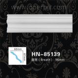 Corniche de polyuréthane de décoration de plafond d'unité centrale moulant Hn-85139
