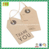 Hangtag di carta con stampa di Custome