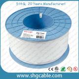 Câble coaxial de liaison Rg58, Rg58A/U, Rg58c/U de télévision en circuit fermé de la qualité 50ohm