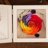 승진은 선물을%s 꽃 사진 프레임을 보존했다