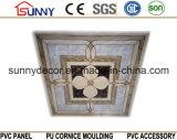 転送の印刷の内部のホーム装飾595枚のPVC壁および天井のタイル