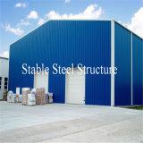 Prefabricated 주문을 받아서 만들어진 디자인 강철 구조물 작업장