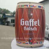 O frasco inflável personalizado da bebida pode para o anúncio da promoção