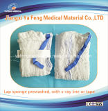 医学の使い捨て可能な生殖不能の前洗いされたラップのスポンジ45cmx45cm-4ply