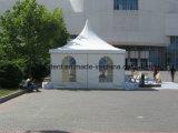 Шатер Pagoda PVC Alumunum белый с стеклянной дверью для венчания
