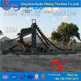 배 또는 작은 조각 바지선을 준설하는 물통 금 준설기 /Gold
