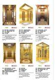 Разбивочные отверстие и емкость 630kg для лифта пассажира