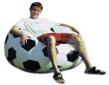 Sofa gonflable personnalisé du football d'air de PVC de couleurs