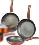 Vaschette di frittura di alluminio di rame metalliche dell'articolo da cucina