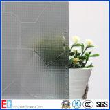 o vidro do enigma do cinza de 3mm 4mm 5mm 6mm 8mm/teste padrão de Karatachi/rolou o vidro/vidro de vidro/modelado figurado