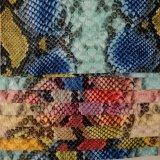 Unità di elaborazione sintetica, cuoio per i pattini, sacchetto di mano, sofà del PVC