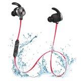 Ruído que cancela o fone de ouvido impermeável de Bluetooth 4.0 portáteis do esporte para auriculares do rádio da natação