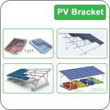 6000 sistema a energia solare solare del sistema 6kw di PV di watt con la batteria per la famiglia