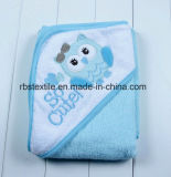 高品質の綿の浴室毛布のフード付きタオル