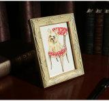 Klassischer hölzerner Bilderrahmen Drucken der Tierwand-Kunst