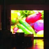 Tela de indicador interna do diodo emissor de luz da cor cheia da alta qualidade para a parede video 4.8mm do diodo emissor de luz