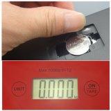 escala electrónica de la cocina de Digitaces de la pantalla táctil 5kg