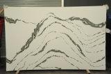家の装飾のための3.2m*1.6m 20mm厚い磨かれたEngineeedの水晶大きい石造りの平板