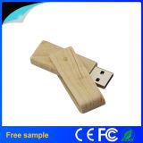 2016昇進のギフトのための熱い販売の木の旋回装置USBのフラッシュ駆動機構