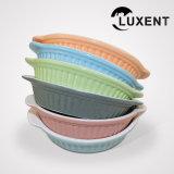 Bandejas de hornear ovales del color de la tienda de cerámica de la nueva llegada de China