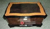 El diseño del rectángulo de empaquetado del alto cigarro negro ligero
