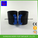 Красные кружка кофеего ручки 360ml пластичные/чашки