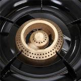 Fornello di gas con il bruciatore dorato Jp-Gc206t del ghisa due