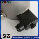 Manomètres électriques photoélectriques de contact d'acier inoxydable