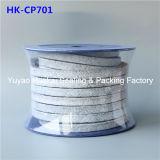 PTFE Teflon Lubricant Gland Braided Packing를 가진 건류된 Fiber