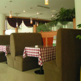 Nuovo Restaurant Fabric Sofa con Highquality