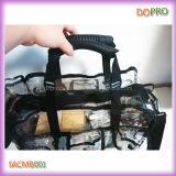 Большая емкость ПВХ Профессиональный Ясно Макияж сумка (SACMB001)