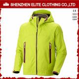 フードが付いている子供の羊毛のSoftshellのジャケット
