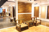 Étage composé en bois de parquet multicouche de luxe et d'art
