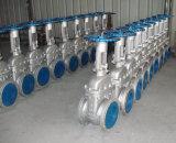 Válvula de compuerta de acero inoxidable 304/316 para agua