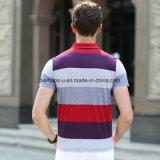 Polo de alta qualidade de listras coloridas Polo Polo Sports Wear