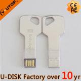 Movimentação do flash do USB da chave do metal dos presentes de OEM Companhia (YT-3213-07L2)