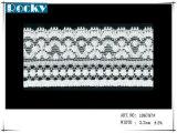 Guarnizione elastica del merletto della maglia del tessuto per il merletto nuziale