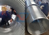 10 años de alcantarillas de acero acanaladas producidas fábrica