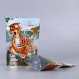 Malote laminado de pé do alimento com fechamento do fecho de correr/saco plástico da embalagem com indicador (ML-E28)