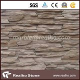 نمو تصميم زاويّة جدار زخرفة طبيعيّة يستنبت حجارة