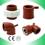 PP Brown Fittings Female Reducer