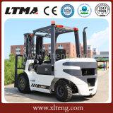 Caminhão de Forklift Diesel do caminhão de Forklift 3t de Ltma