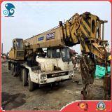 grue hydraulique mobile de camion de Tatano utilisée par 50ton-Lifting Mitsubishi
