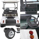 Chariot de golf de panneau solaire de cargaison de camion avec le panier de toit