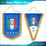 装飾によって使用される小型ハングの旗のサテンの長旗(M-NF12F10010)